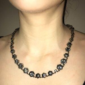 J.Crew smoky stone necklace